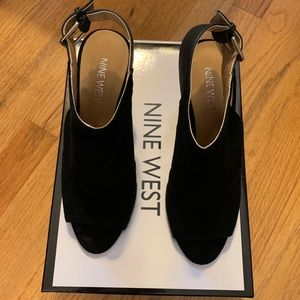 Nine West Patono Wedge Bootie